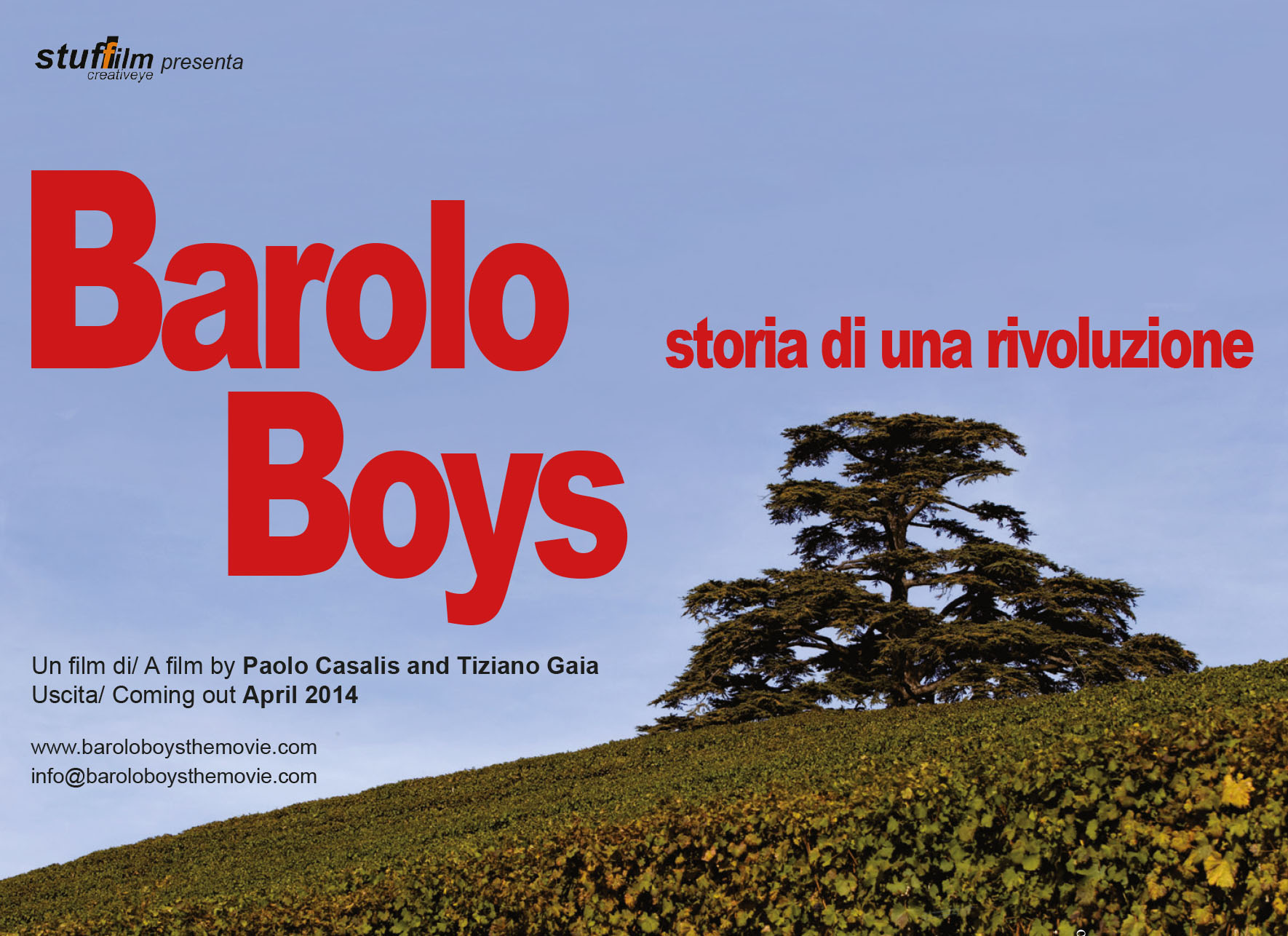 Barolo Boys - Il film Flyer